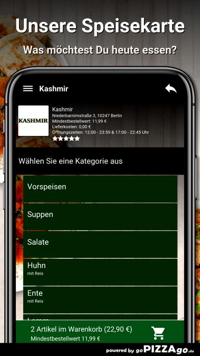 Kashmir Berlin screenshot 2