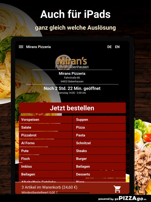 Mirans Pizzeria Babenhausen screenshot 7