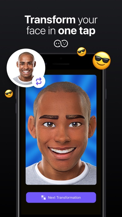 DeepFace - AI Face Editor Screenshot