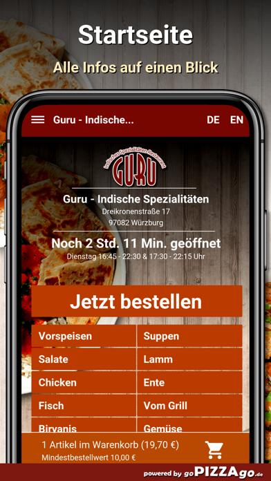 Guru Würzburg screenshot 2