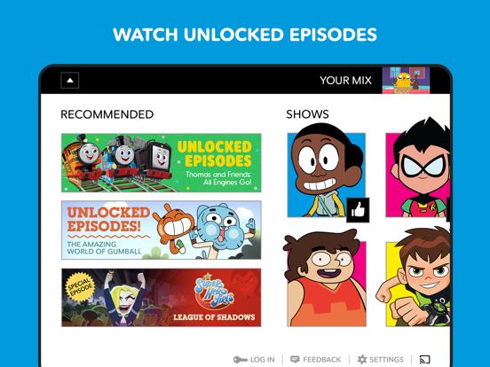 Cartoon Network tablet App screenshot 3