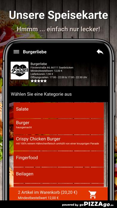 Burgerliebe Saarbrücken screenshot 4