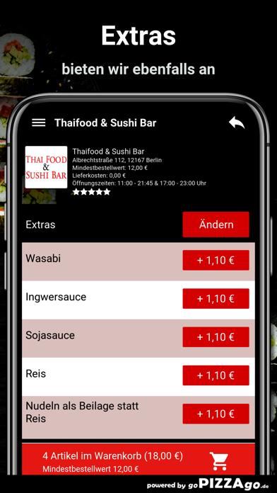 Thaifood & Sushi Bar Berlin screenshot 6