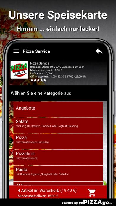 Pizza Service Landsberg screenshot 4