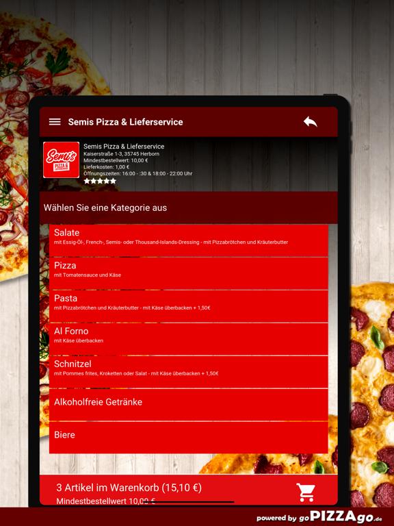 Semis Pizza Herborn screenshot 8