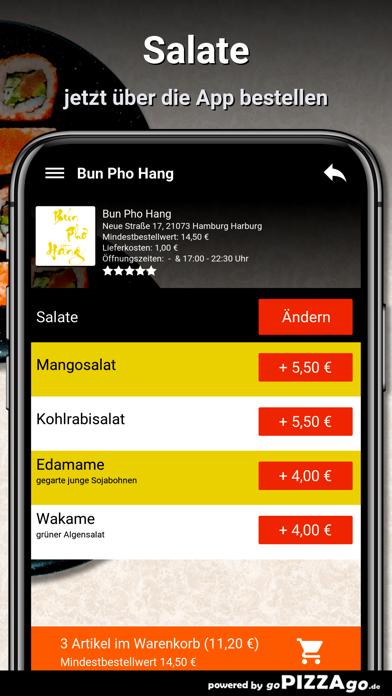 Bun Pho Hang Hamburg Harburg screenshot 6