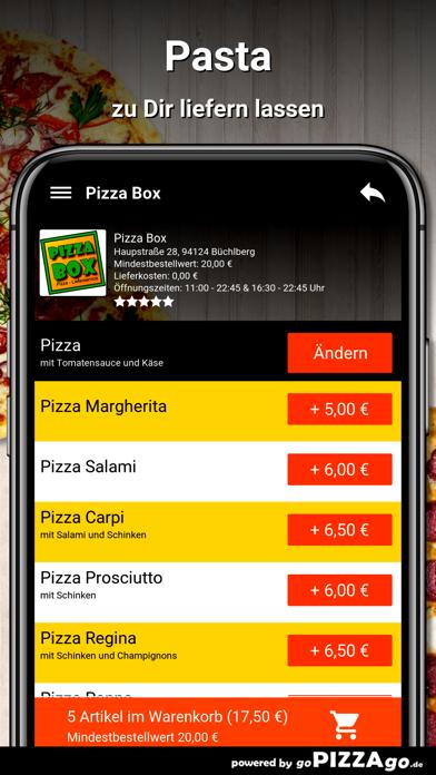 Pizza Box Büchlberg screenshot 5