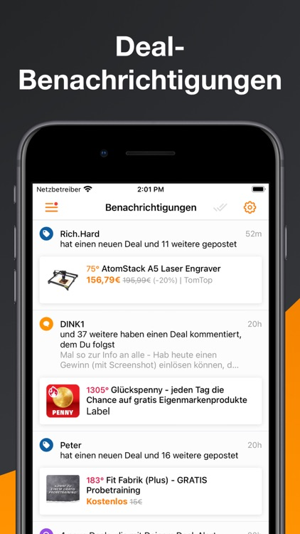Preisjäger – Gutscheine, Deals screenshot-6