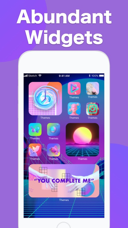 Themes: Color Widgets, Icons