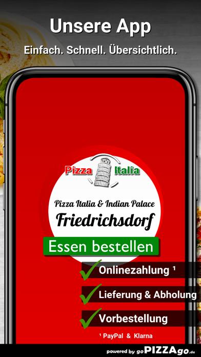 Pizza Italia & Indian Palace screenshot 1