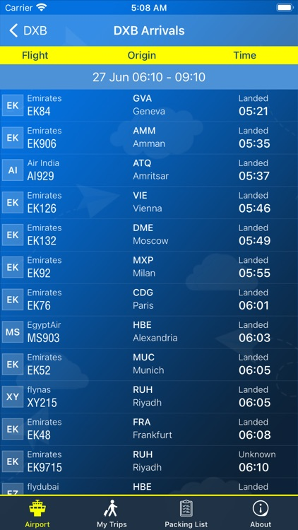 Dubai Airport (DXB) Info