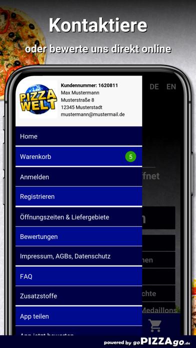 Pizza-Welt Oberhausen screenshot 3