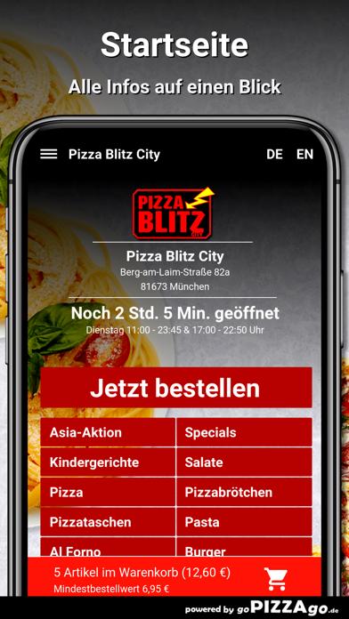 Pizza Blitz City München screenshot 2