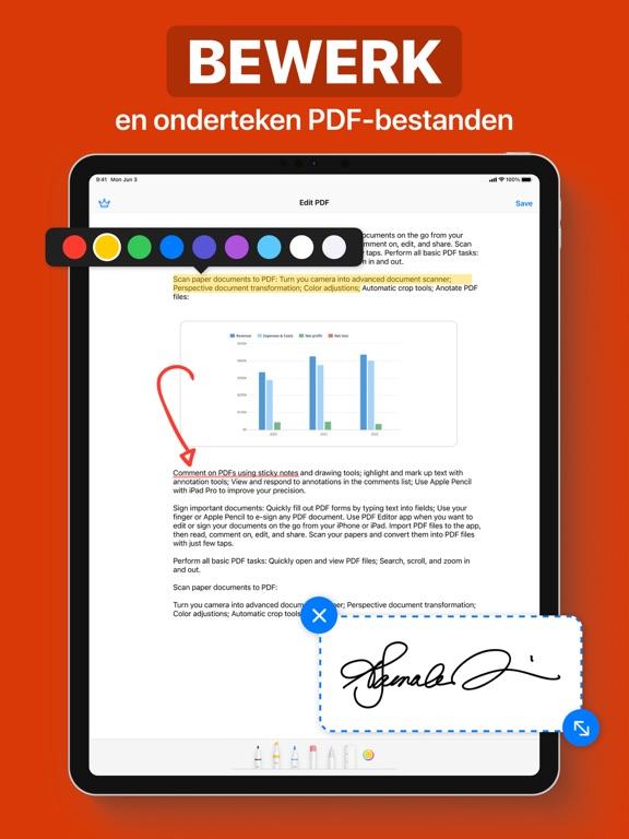 PDF iPad app afbeelding 1