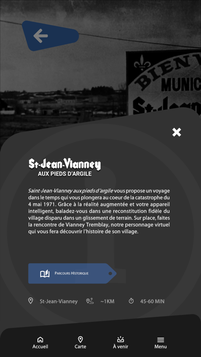 Centre d'histoire Arvida screenshot 2