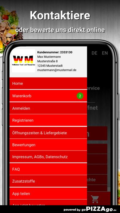 Weilheimer Pizza Weilheim screenshot 3