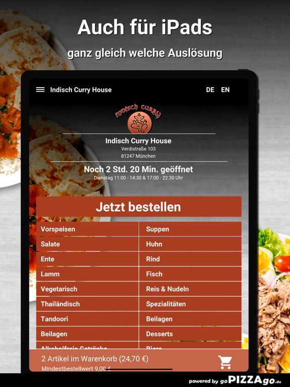 Indisch Curry House München screenshot 7