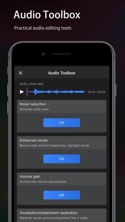 Audio Editor - Music editor screenshot-5