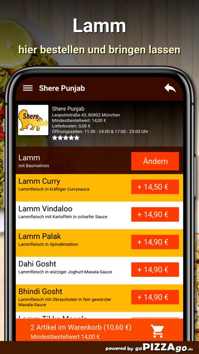Shere Punjab München screenshot 6