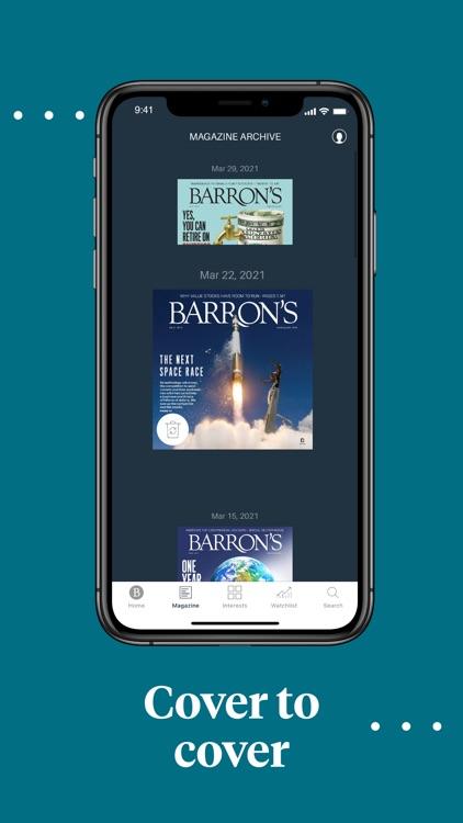 Barron's - Investing Insights screenshot-4