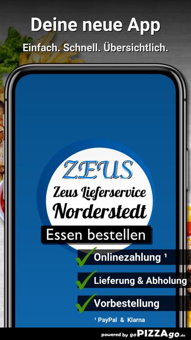 Zeus Lieferservice Norderstedt screenshot 1