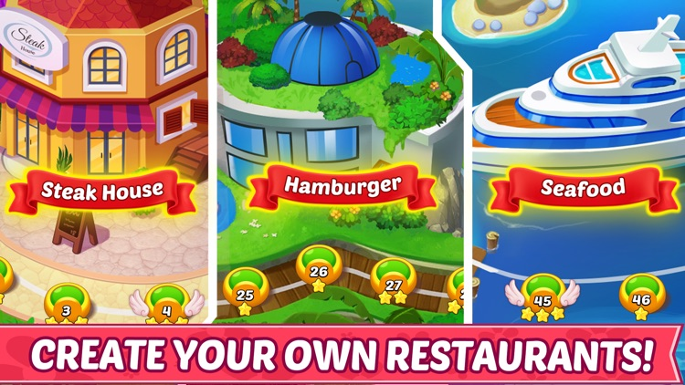 Cooking Story ™ Chef Cook Game screenshot-3
