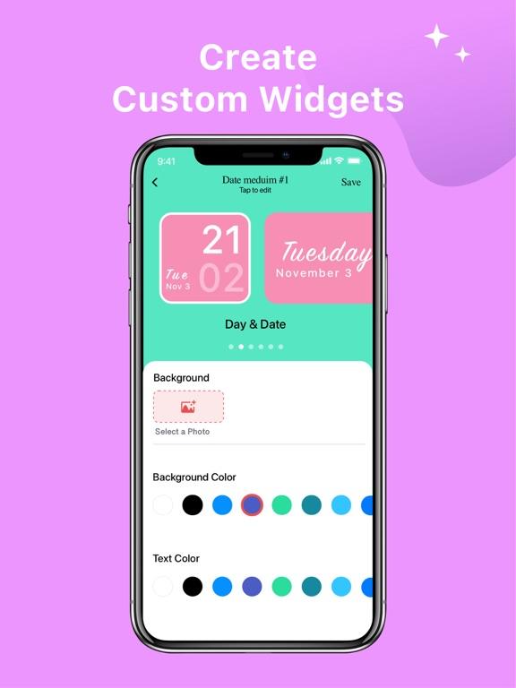 カラーウィジェット - Color Widgetsのおすすめ画像8