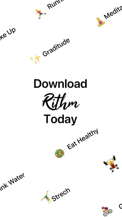 Rithm: Habit Tracking Machine screenshot-5