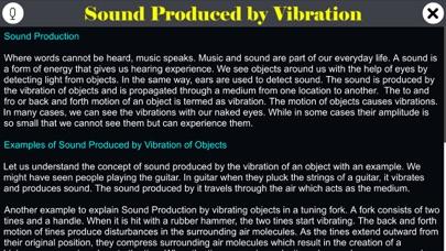 Sound Produced by Vibration screenshot 1
