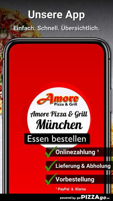 Amore Pizza & Grill München screenshot 1