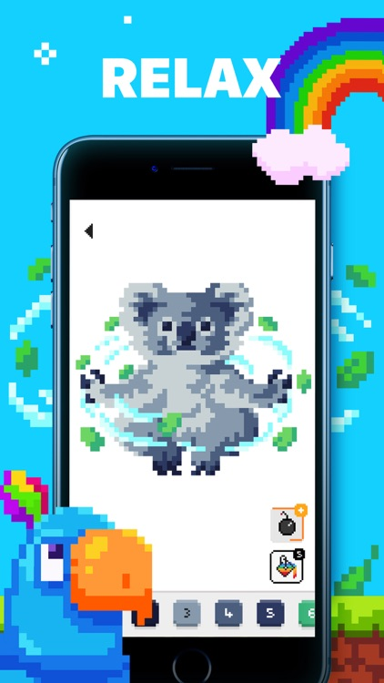 UNICORN: Color by Number Games screenshot-3