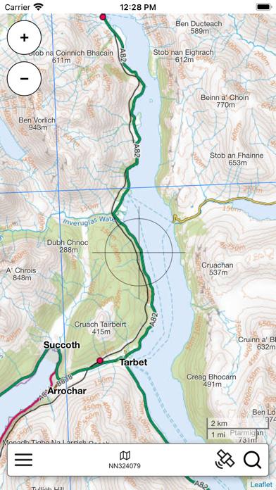 Lomond, South Scotland Map Pro screenshot 4