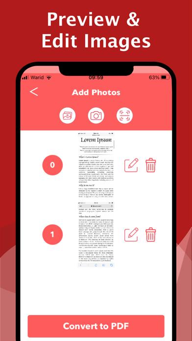 The PDF Photos - JPG to PDF屏幕截图2