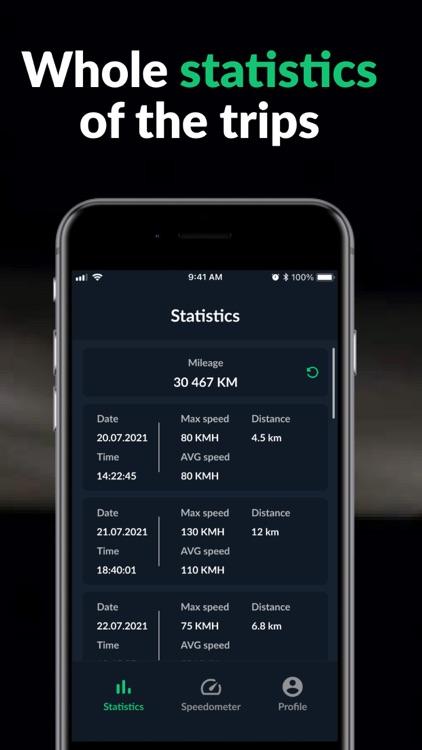 Speedometer: Mph Tracker Speed screenshot-3