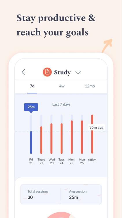 Flipd: Focus & Study Timer screenshot-3