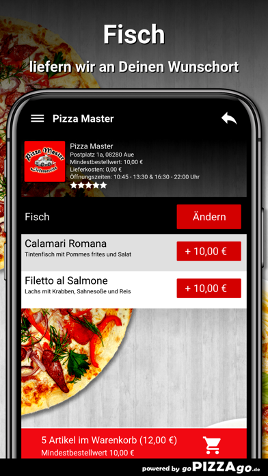 Pizza Master Aue screenshot 6