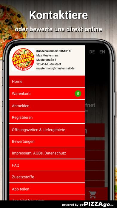 Der Pizzaservice Straubing screenshot 3