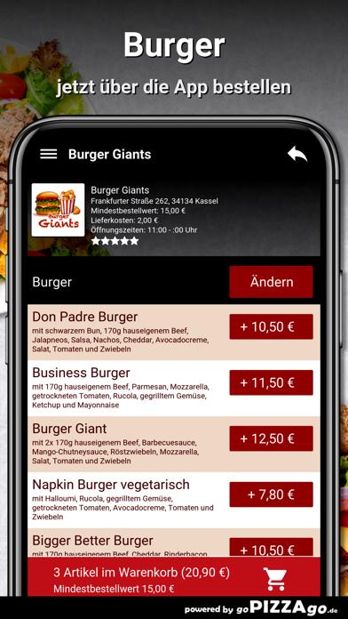 Burger Giants Kassel screenshot 5