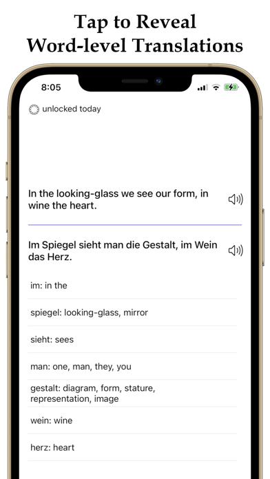 German and English Proverbs screenshot 2