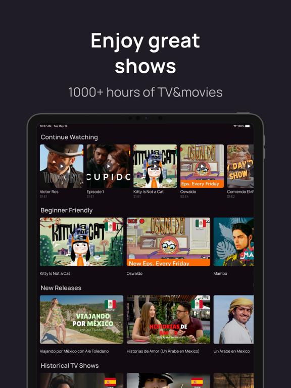 Lingopie: Learn Languages w/TV screenshot