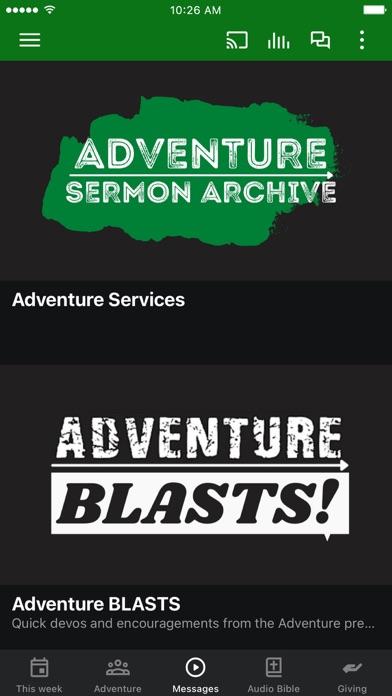 Screenshot 2 of Adventure Patterson App
