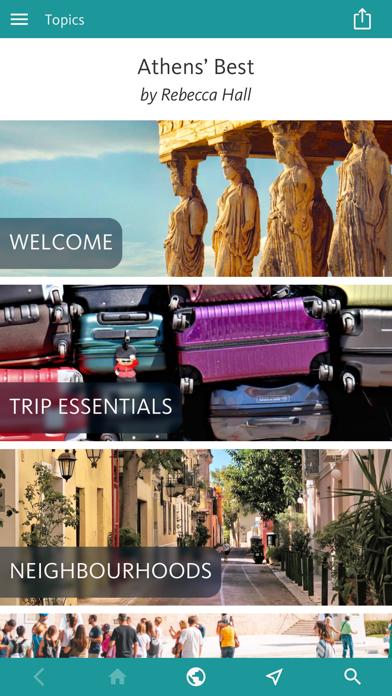 Athens' Best: Travel Guide screenshot 1
