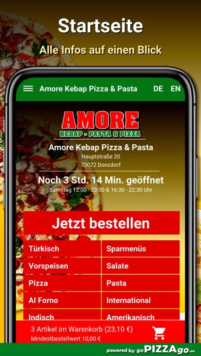 Amore Pizza Donzdorf screenshot 2