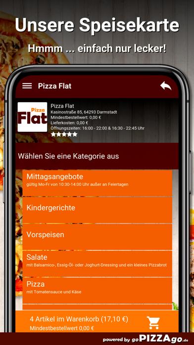 Pizza Flat Darmstadt screenshot 1