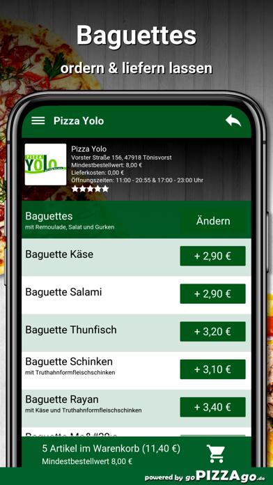 Pizza Yolo Tönisvorst screenshot 6
