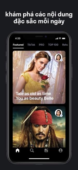 Reface: App ghép mặt vào Video