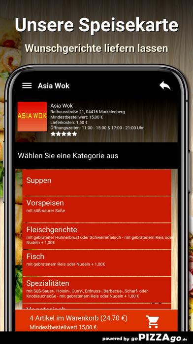 Asia Wok Markkleeberg screenshot 6