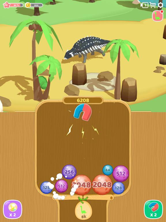 恐竜 2048 3Dのおすすめ画像3