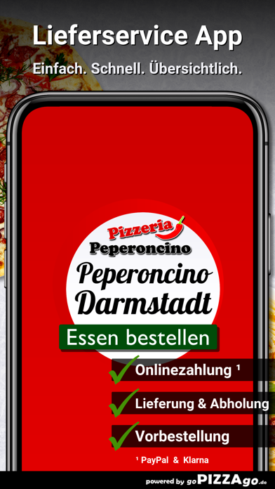 Pizzeria Peperoncino Darmstadt screenshot 1
