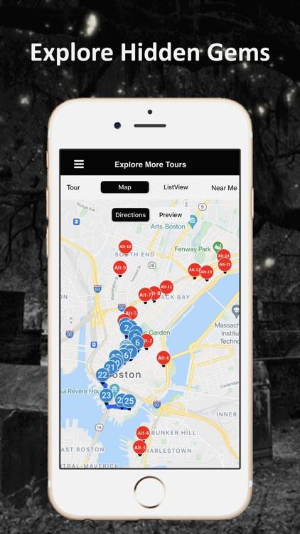 Boston Ghosts Audio Tour Guide screenshot-6
